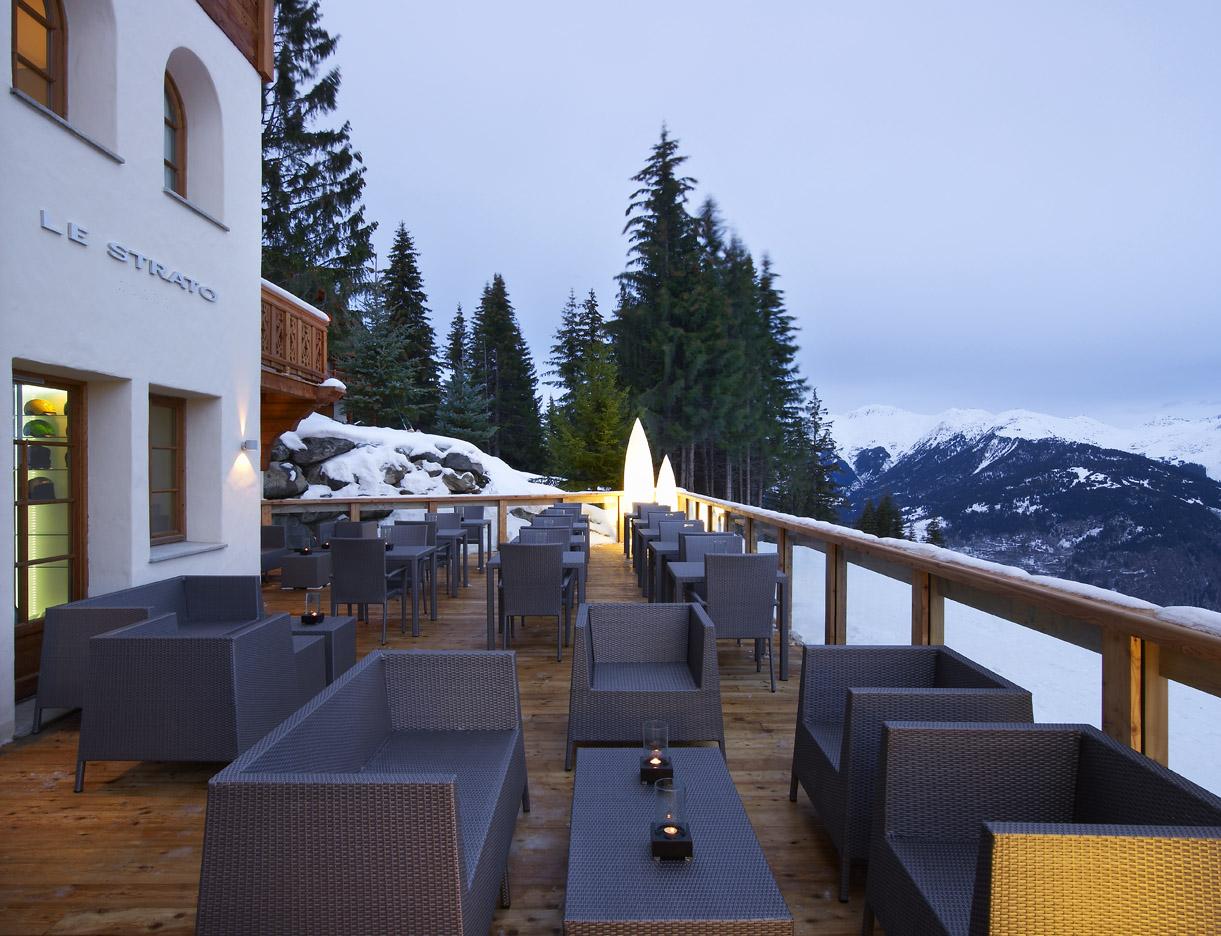 Terrasse ski room