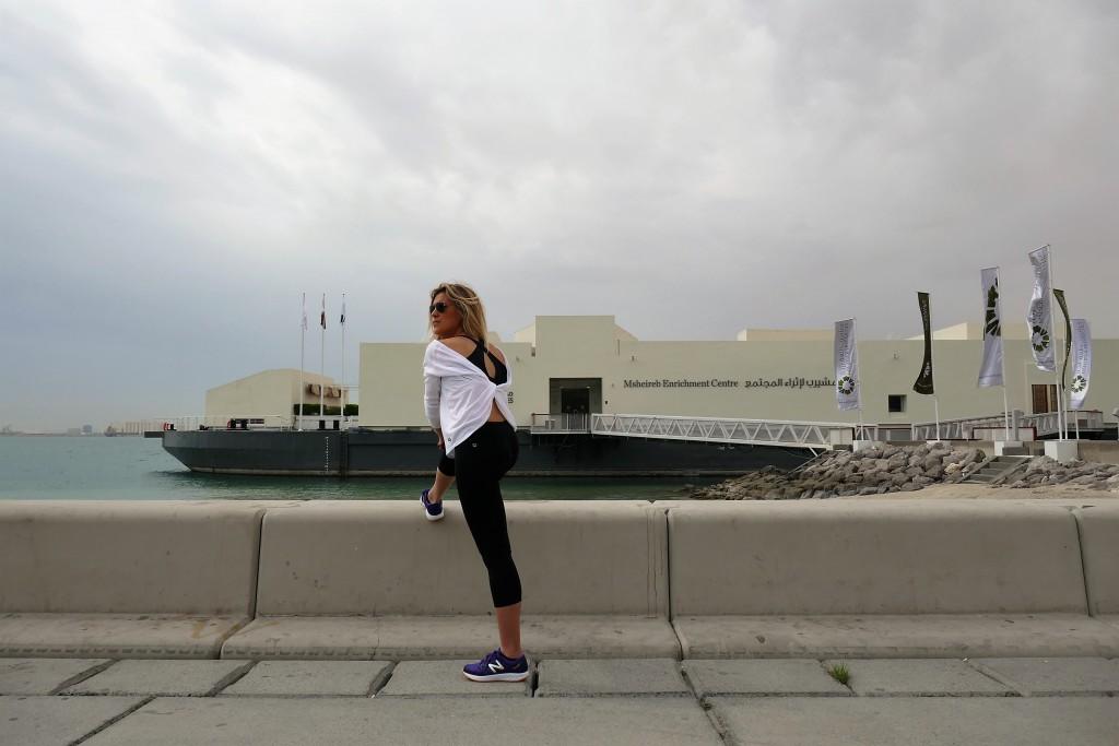jogging sur la corniche doha qatar