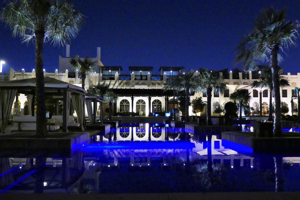 sharq village doha hotel night