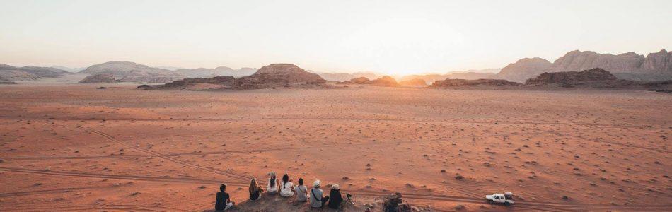 24H dans le désert Jordanien du Wadi Rum, une expérience hors du commun