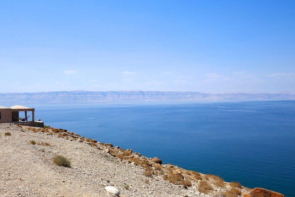Bain dans la Mer Morte Jordanie
