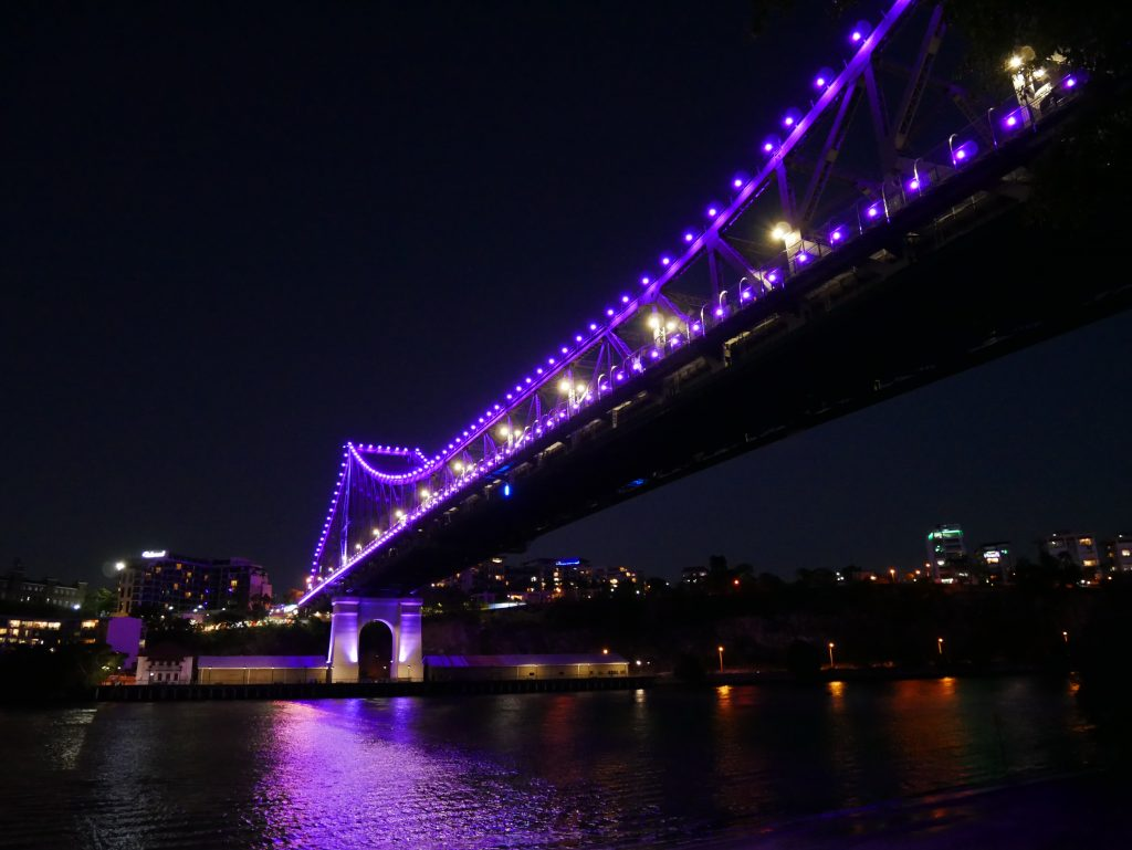 Story Bridge by night, Brisbane