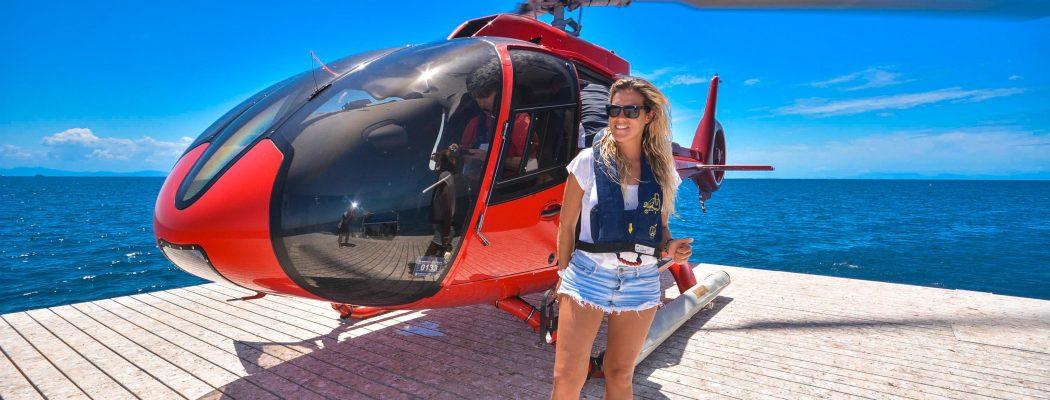 Plongée, Vol en Hélicoptère, Snorkeling : découvrir La Grande Barrière de Corail en 1 jour depuis Cairns. Queensland VIII.