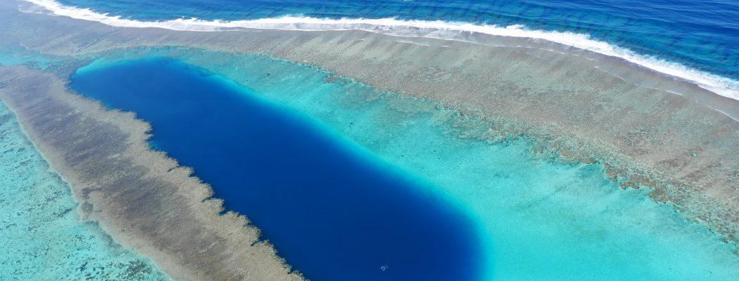 40 minutes en ULM au dessus du Coeur de Voh et du plus grand lagon au Monde.