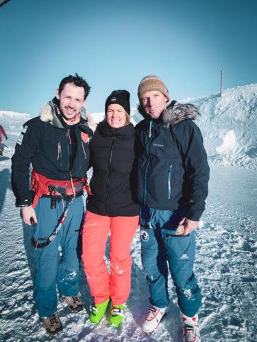 Matthieu Tordeur snowkite Norvège