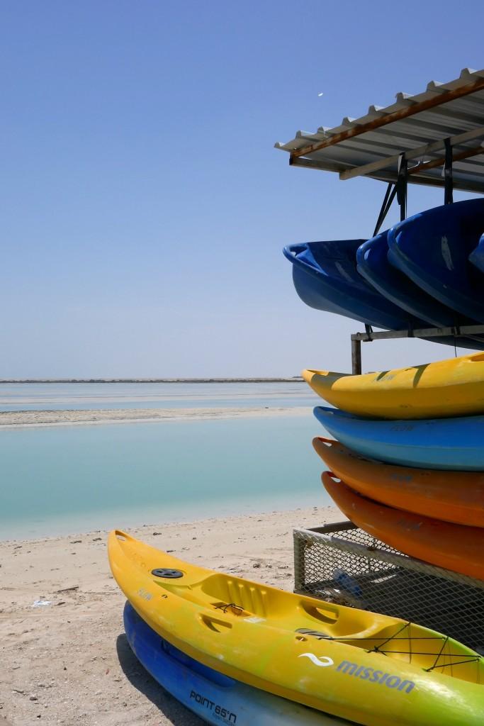 al thakira mangrove doha kayak