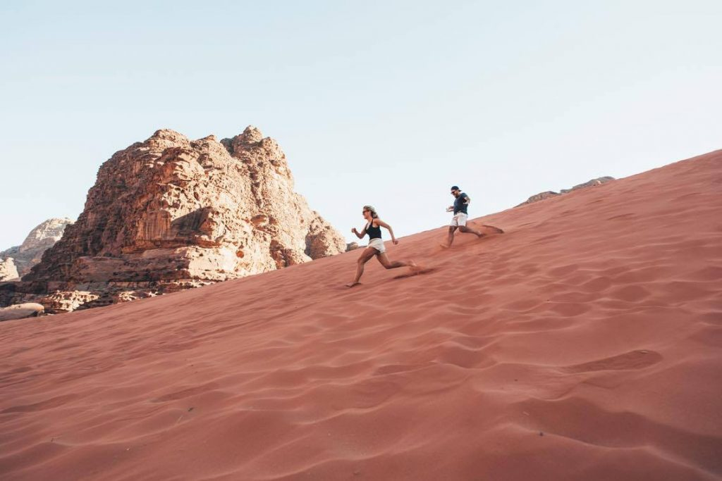 Sand Dunes Area, Wadi Rum, Jordan