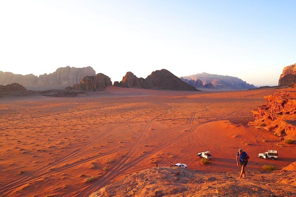 Wadi Rum, Jordan, sunset