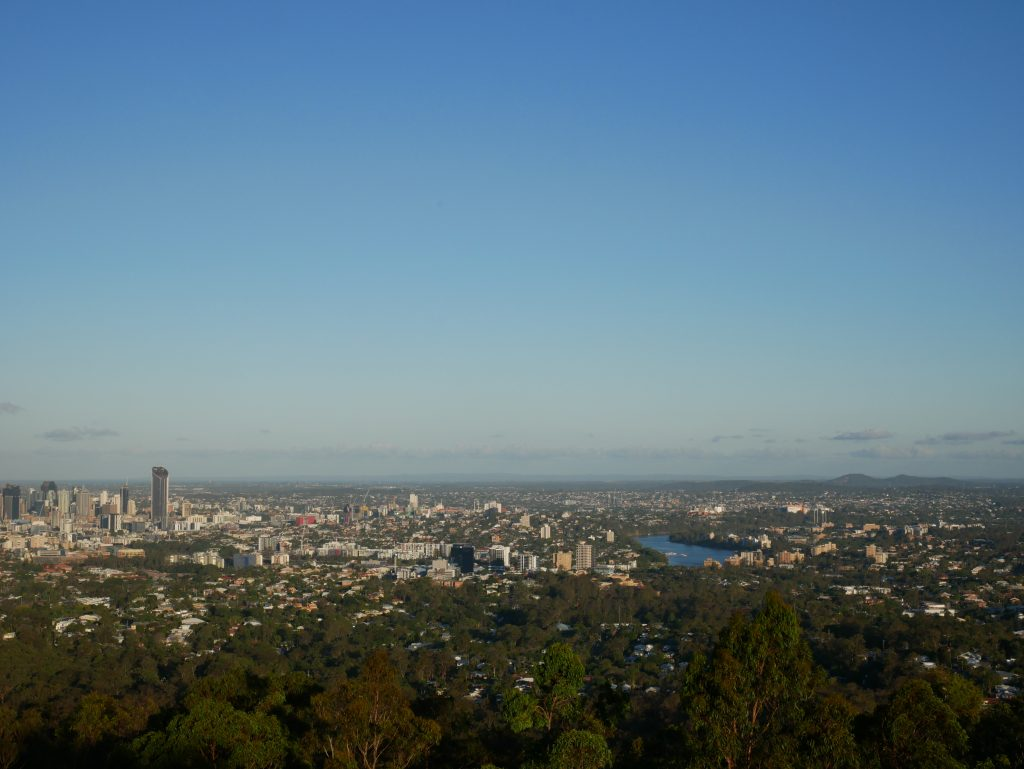From the Mount Coot-Tha, Brisbane
