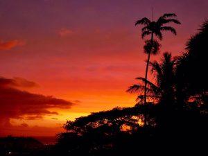 couche de soleil noumea