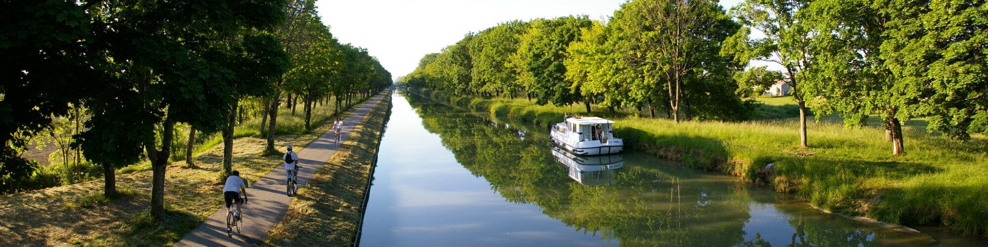 Week-end sur la Véloroute des Gorges de l'Aveyron, au cœur du Tarn et Garonne